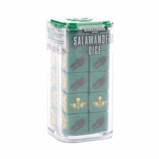 Warhammer 40.000 Salamanders Dice