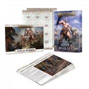 Warhammer Age of Sigmar: Sons of Behemat Warscroll Cards
