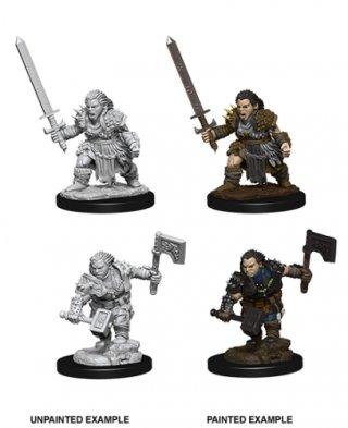 Wizk!dz Deep Cuts - Pathfinder Battles: Female Dwarf Barbarian (2)