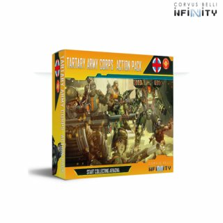 Corvus Belli Infinity: Start Collecting Ariadna Tartary Army Corps Action Pack