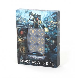 Warhammer 40.000: Space Wolves Dice