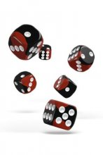 Oakie Doakie Dice: 16mm D6 Glow in the Dark Lava (12)