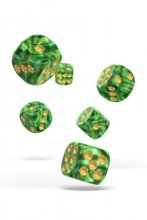 Oakie Doakie Dice: 16mm D6 Gemidice Jungle (12)