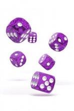 Oakie Doakie Dice: 16mm D6 Speckled Purple (12)