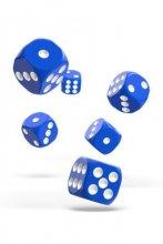 Oakie Doakie Dice: 16mm D6 Solid Blue (12)