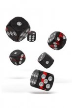Oakie Doakie Dice: 16mm D6 Enclave Ruby (12)