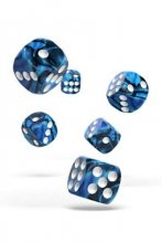 Oakie Doakie Dice: 16mm D6 Gemidice Twilight Stone (12)