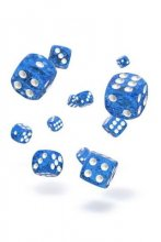 Oakie Doakie Dice: 12mm D6 Speckled Blue (36)