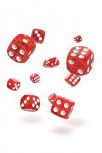 Oakie Doakie Dice: 12mm D6 Speckled Red (36)