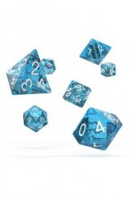 Oakie Doakie Dice: RPG Set Speckled Light Blue (7)