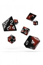 Oakie Doakie Dice: RPG Set Glow in the Dark Lava (7)