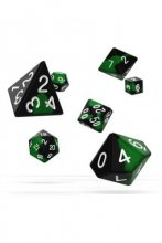 Oakie Doakie Dice: RPG Set Glow in the Dark Biohazard (7)