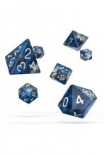 Oakie Doakie Dice: RPG Set Gemidice Liquid Steel (7)