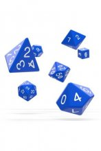 Oakie Doakie Dice: RPG Set Solid Blue (7)