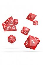 Oakie Doakie Dice: RPG Set Marble Red (7)