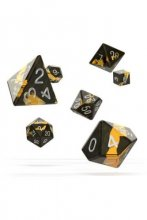 Oakie Doakie Dice: RPG Set Enclave Amber (7)