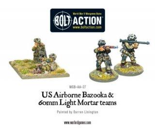 Bolt Action - US Airborne Bazooka & light mortar teams (Blister)