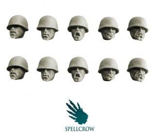 Spellcrow - Guards Heads in M1 Helmets