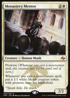 MTG - Mentor des Klosters / Monastery Mentor (FRF 020/185 EN NM foil)