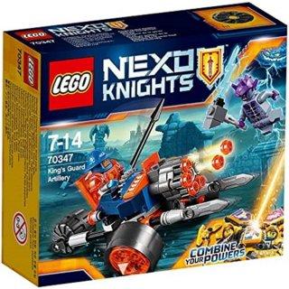 LEGO - Nexo Knights: Bike der königlischen Wache/ Kings Guard Artillery (70347)