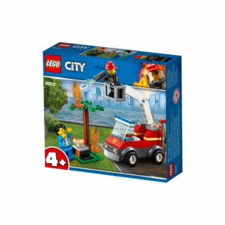 LEGO - City: Feuerwehr beim Grillfest/Barbecue burn out (60212)