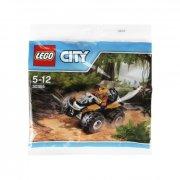 LEGO - City: Dschungel-Quad/ Jungle ATV Polybag (30355)