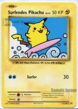 Pokemon: Surfendes Pikachu/Surfing Pikachu DE NM...