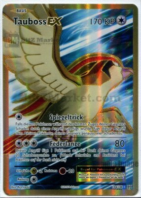 Pokemon: TaubossEX / PidgeotEX DE NM (Evolutions 104/108)