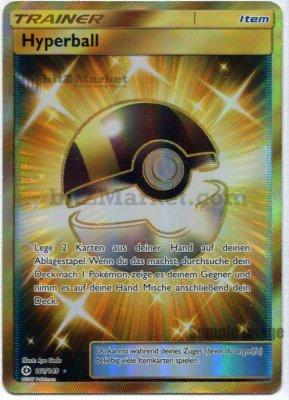 Pokemon: Hyperball / Ultra Ball DE NM (Sonne & Mond 161/149)
