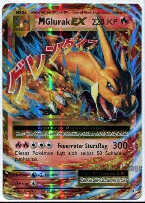 Pokemon: MGlurakEX / MCharizardEX DE NM  (Evolutions 13/108)