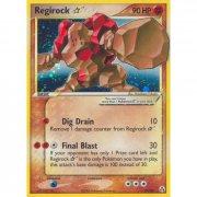 Pokemon: Regirock EN EX  (EX Legend Maker 91/92)