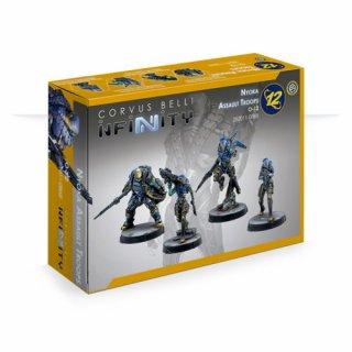 Corvus Belli: Infinity - Nyoka Assault Troops