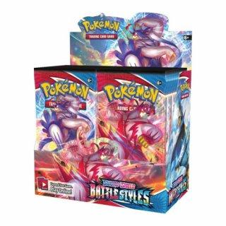 Pokemon: Sword & Shield Battlestyles Display (EN)