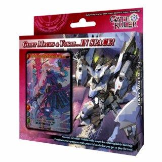 Gate Ruler: Giant Mechs & Yokai...IN SPACE! Starter Deck (EN)