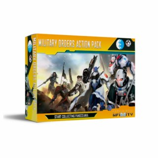 Corvus Belli: Infinity - Start Collecting Panoceania Military Orders Action Pack