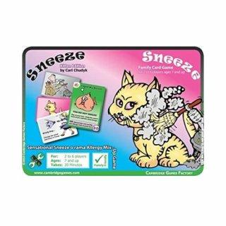Sneeze - Kitten Edition: Family card game (EN)