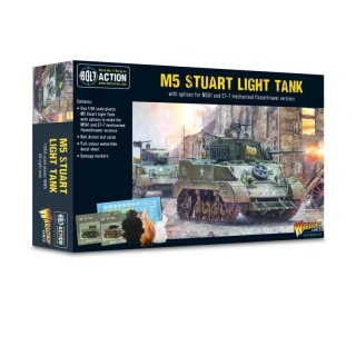 Bolt Action - M5 Stuart Light Tank