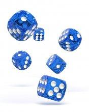 Oakie Doakie Dice: 16mm D6 Speckled Blue (12)