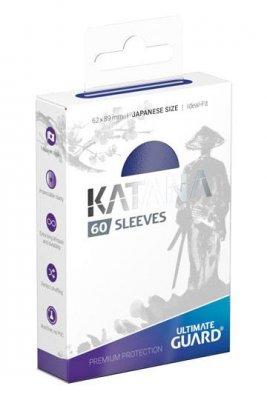 Ultimate Guard: Katana Sleeves Japanese Size Blue (60)