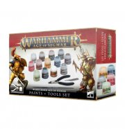 Warhammer Age of Sigmar: Paints + Tools Set