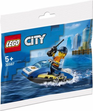 LEGO - City: Police Water Scooter Polybag (30567)