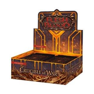 Flesh & Blood TCG: Crucible of War Unlimited Booster Display (EN)