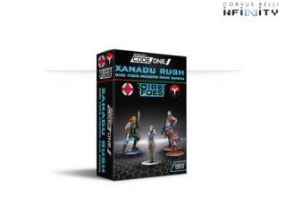 Corvus Belli: Infinity - Xandu Rush Dire Foes Mission Pack Gamma