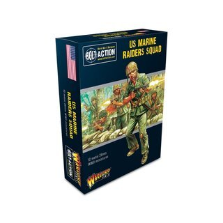 Bolt Action - US Marine Raiders Squad