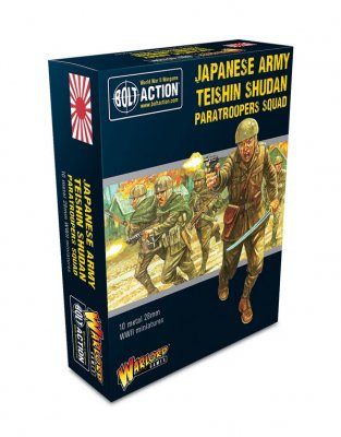 Bolt Action - Japanese Army Teishin Shudan Paratroopers Squad