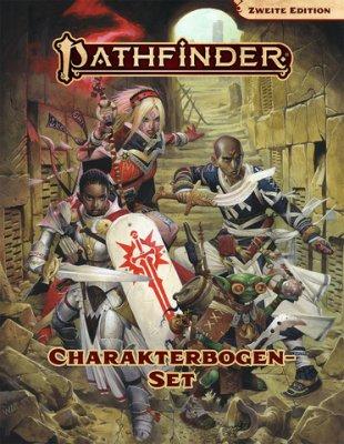 Pathfinder Charakterbogen-Set 2. Edition (DE)