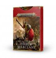 Warhammer Age of Sigmar: Warscroll Cards Orruk Warclans (DE)
