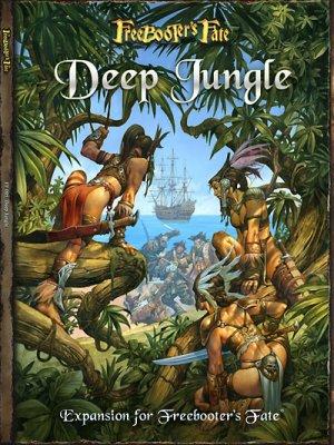 Freebooters Fate Deep Jungle Regelbuch (deutsch)