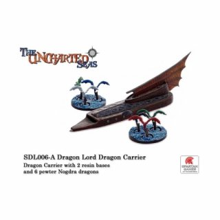 Uncharted Seas: Dragon Lords - Dragon Carrier with Nodra Dragons (1)