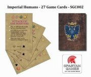 Uncharted Seas: Game Cards - Imperial Human (EN)